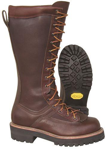 c3564d7e11f Carolina boots men s ca924 black usa made 16 inch eh linesman boots ...