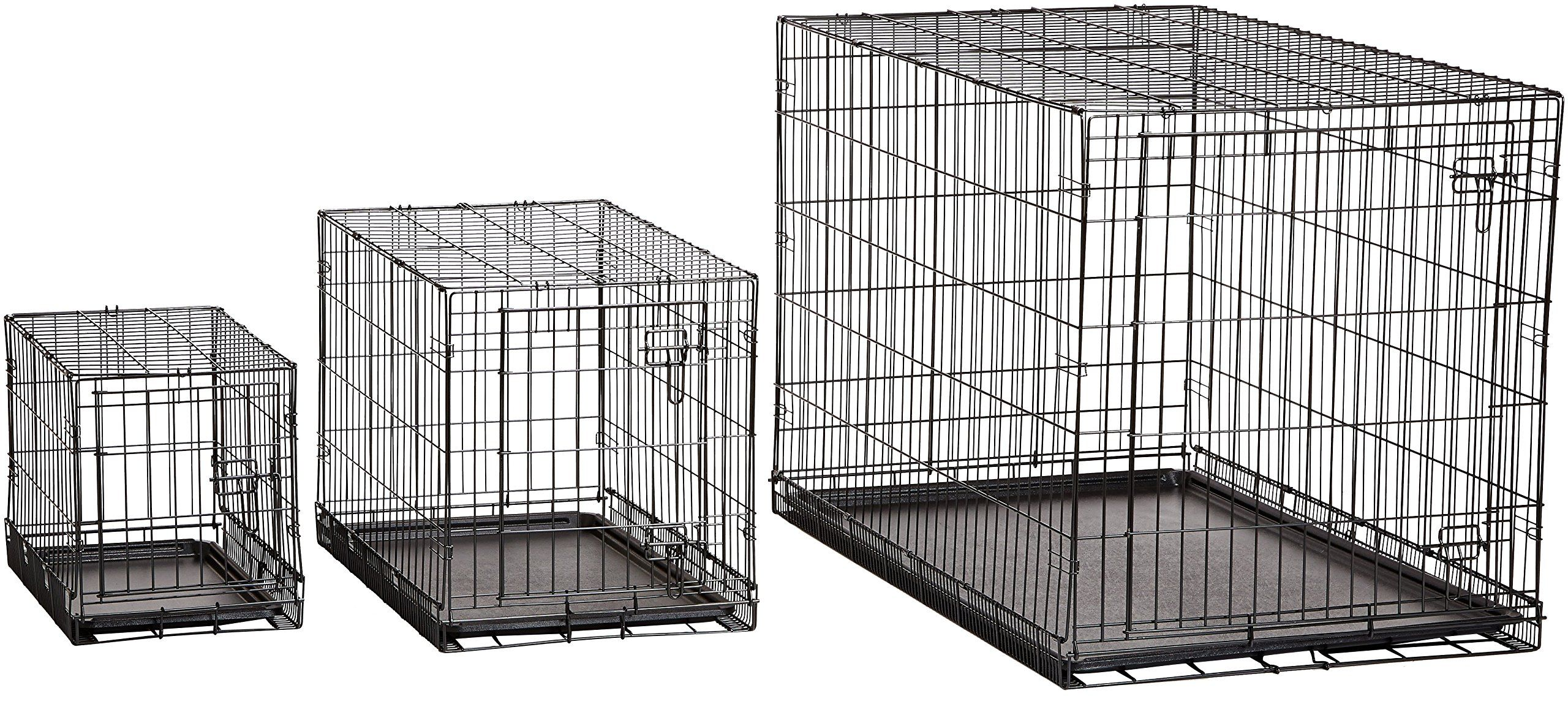 Amazonbasics Singledoor Folding Metal Dog Crate 22 Inches To See Even More For This Item Check Out The Image Link This Is An Affiliate Link C Fotografi