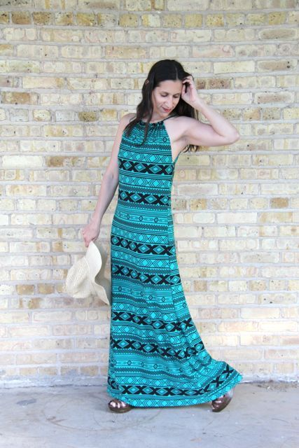 1c9a69244b The Halter Maxi Dress Tutorial. Such a super cute dress!    Smashed Peas  and Carrots
