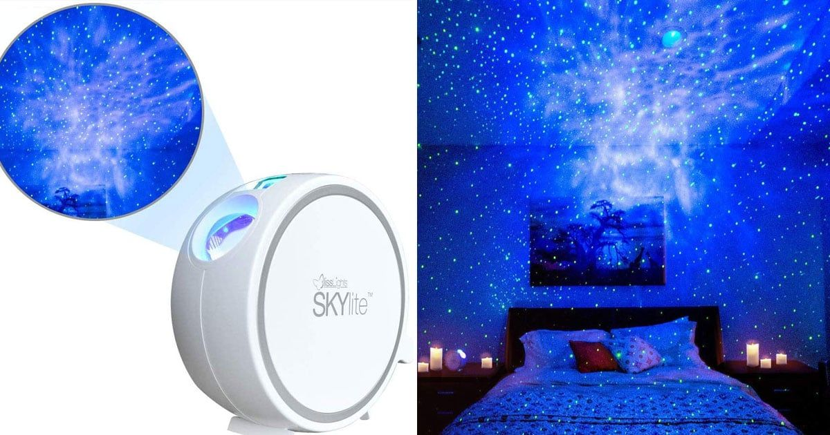 This Projector Brings The Night Sky Full Of Stars Into Your Bedroom And It S An Amazon Bestseller Bedroom Night Light Best Night Light Sky Projector