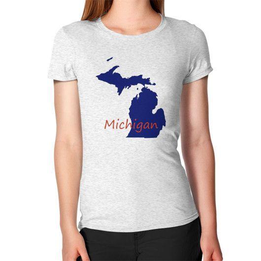Women's T-Shirt - Michigan