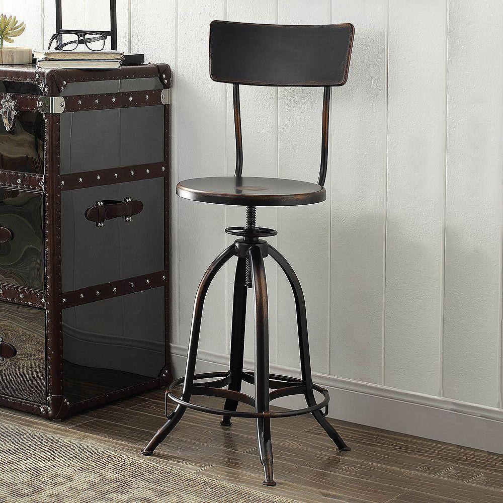 Wyndall Adjustable Metal Stool | Products | Pinterest
