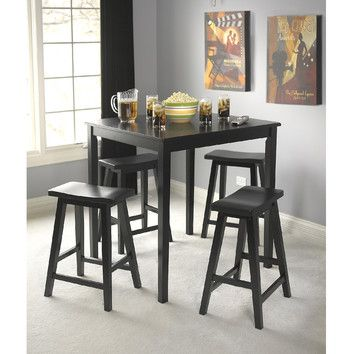 TMS Belfast 5 Piece Counter Height Dining Set