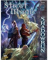 Street Magic | Book cover and interior art for Shadowrun Fourth Edition - SR4, 4th Ed, 4E, science fiction, sci-fi, scifi, scify, Roleplaying Game, Role Playing Game, RPG, FASA Games Inc., FASA Corporation, Ral Partha Europe Ltd. | Create your own roleplaying game books w/ RPG Bard: www.rpgbard.com | Not Trusty Sword art: click artwork for source