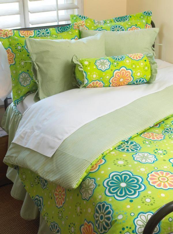Flower Power Bedding - Cotton Tale Designs