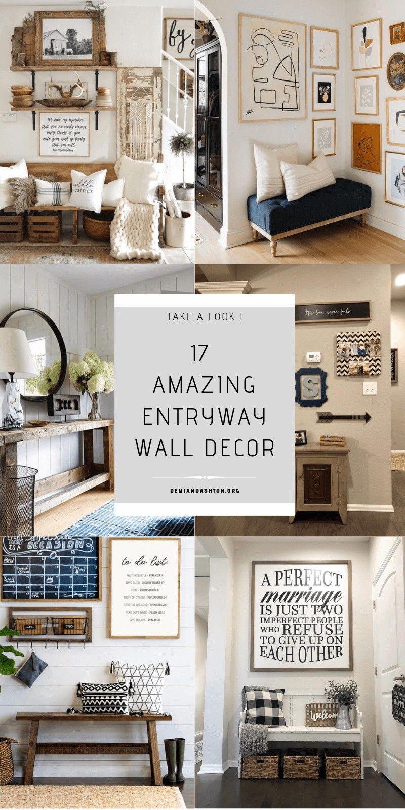 Ideas For Entryway Wall Decor Entryway Wall Decor Entryway Wall Entry Wall
