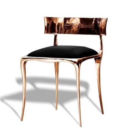 French/American Designer Of Furniture, Paul Mathieu. Selecting What Appeals  From His Ranges
