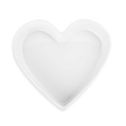 White Heart Shaped Baking Dish 1 Qt Capacity Visit The Image Link More Details This Is An Amazon Affiliate Link And I Receive A Commission For The Sale Blanco
