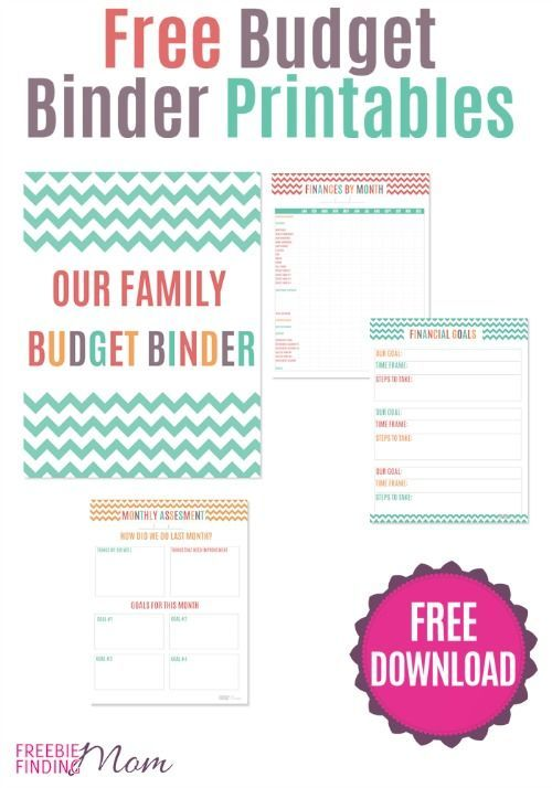 FREE Printable Budget Binder \u2013 Download or Print Budget binder - free printable budget spreadsheet