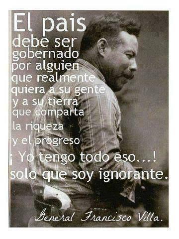 Humorhistorico Pancho Villa Gran Luchador Por La Libertad