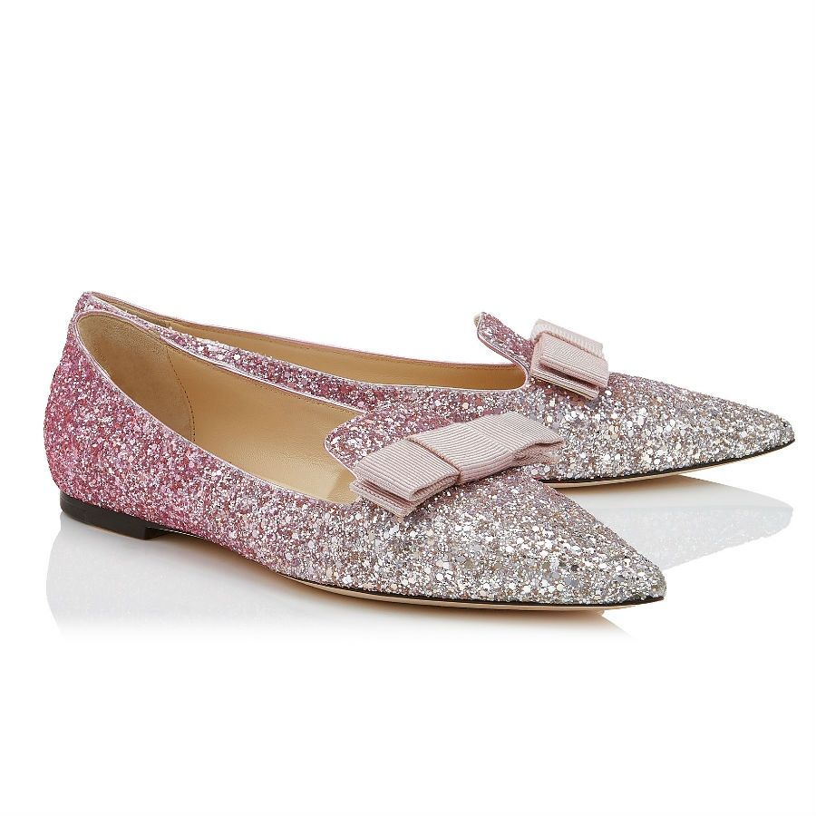 Scintillante in rosa, come la Fata Confetto Jimmy choo