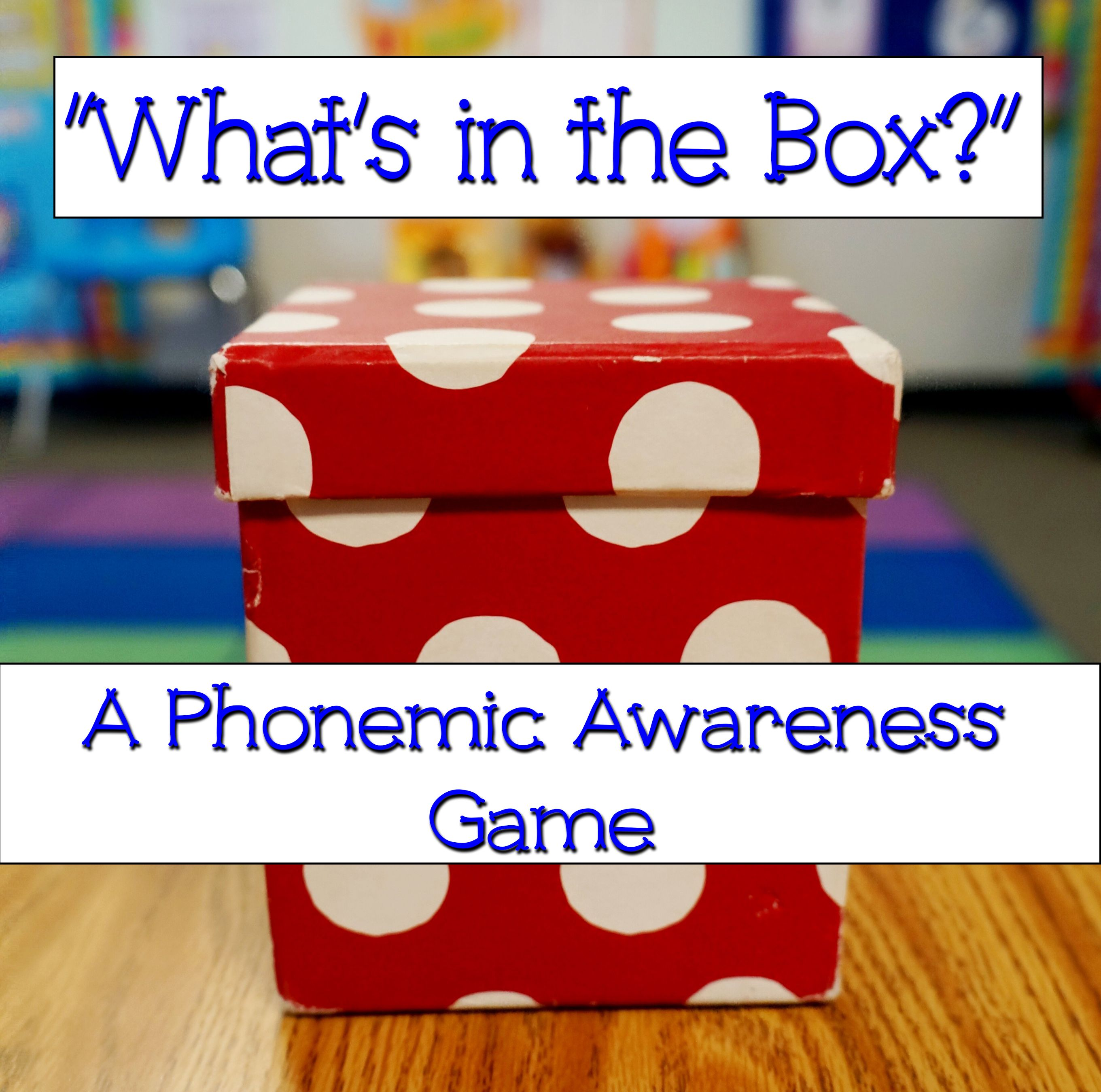 Phonemic Awareness Activities for Preschool, Kindergarten, and First ...