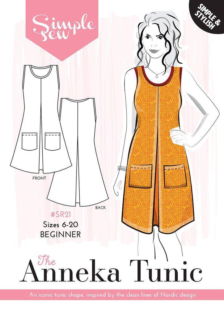 The Simple Sew Anneka Tunic | Sewing: Patterns | Pinterest | Patrones