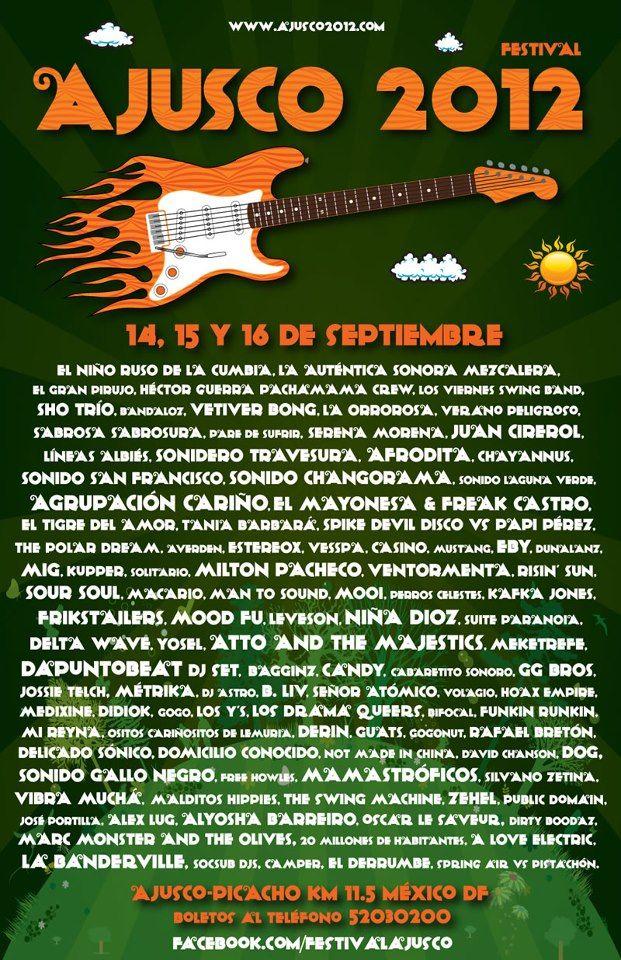 Festival Ajusco - México