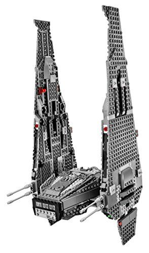 Lego Star Wars Kylo Ren S Command Shuttle 75104 Building Kit Launch The Spring Loaded Shooters Access The Sto Lego Star Wars Star Wars Toys Star Wars Kylo Ren