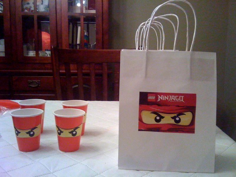 Ninjago goodie bag | Party Ideas | Pinterest | Ninjago party, Lego ...