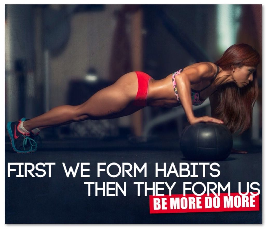 FIRST WE FORM HABITS, THEN THEY FORM US. #BeMoreDoMore http://amzn.to/2spju6T