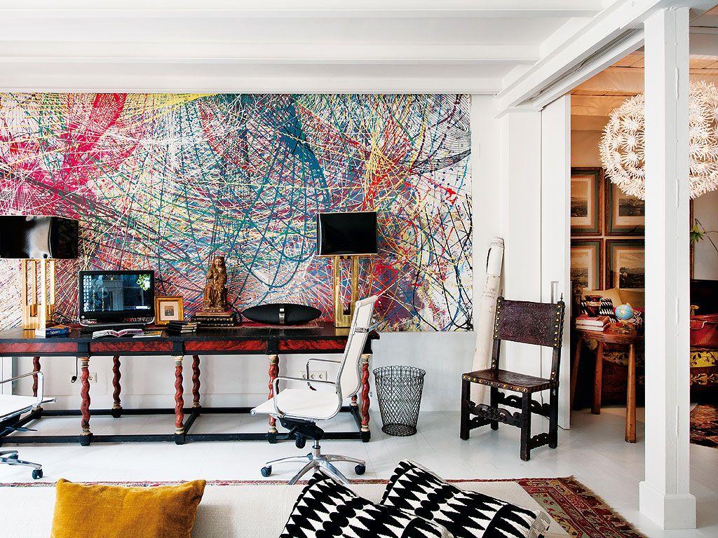 Interiors: Aimee Joaristi\'s Art-Filled Apartment | Madrid ...