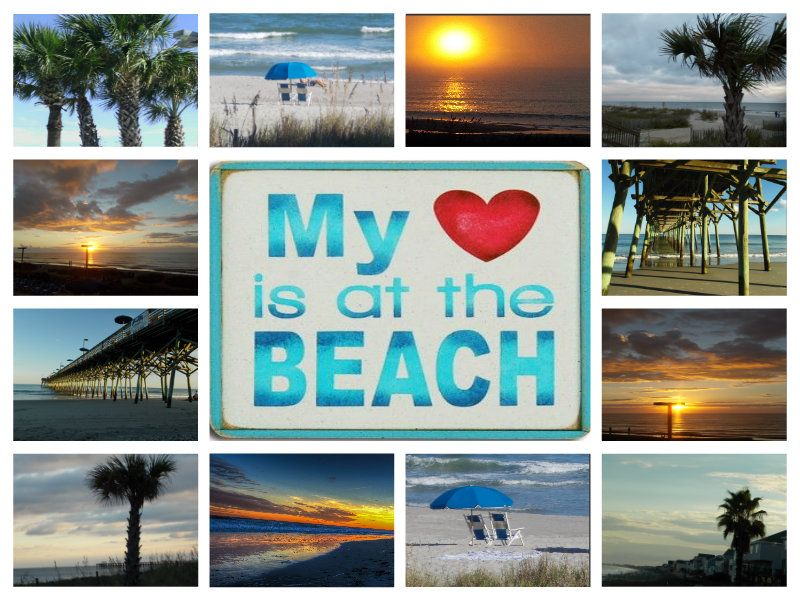 Myrtle Beach, SC!  It is so beautiful there!