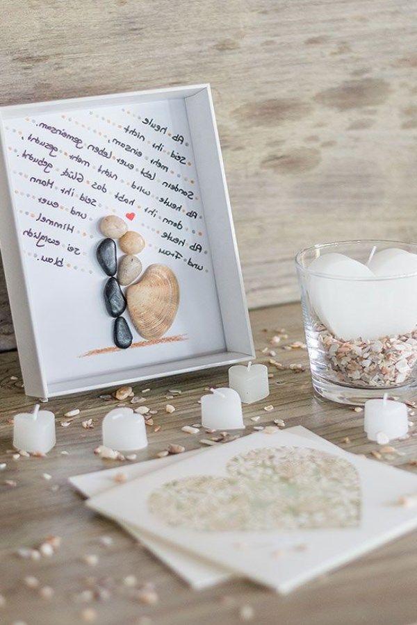 Bilderrahmen Hochzeit Basteln Ideen Zur Hochzeit