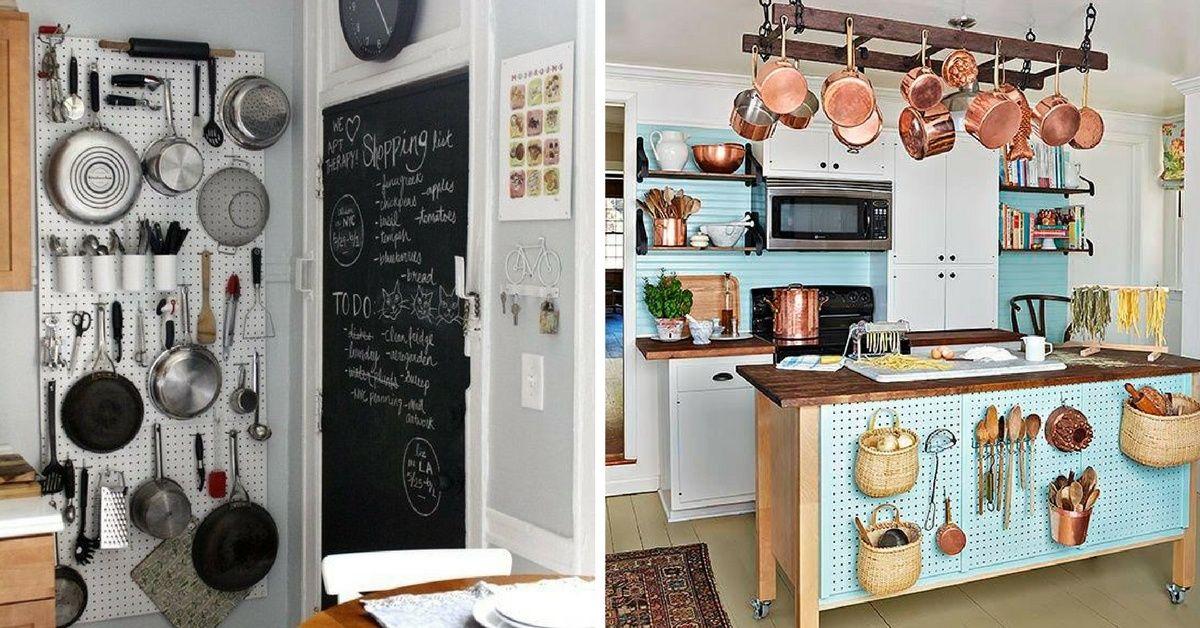 66 trucs astuces qui fonctionnent pour am nager une petite cuisine cuisine petite. Black Bedroom Furniture Sets. Home Design Ideas