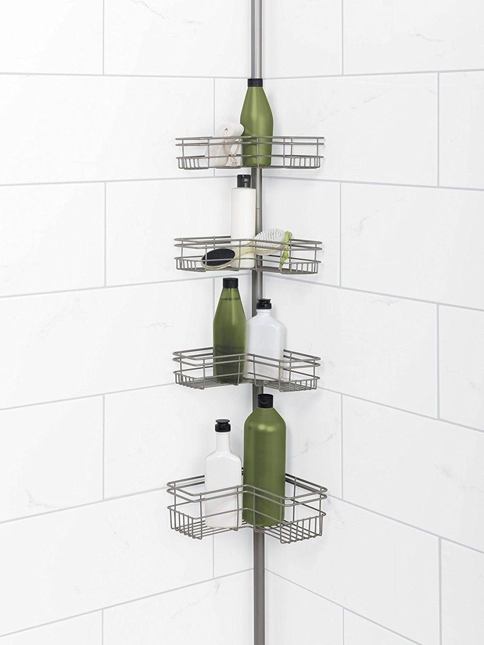 A Corner Shower Caddy So You Won T Trip Over All Your So S Stray
