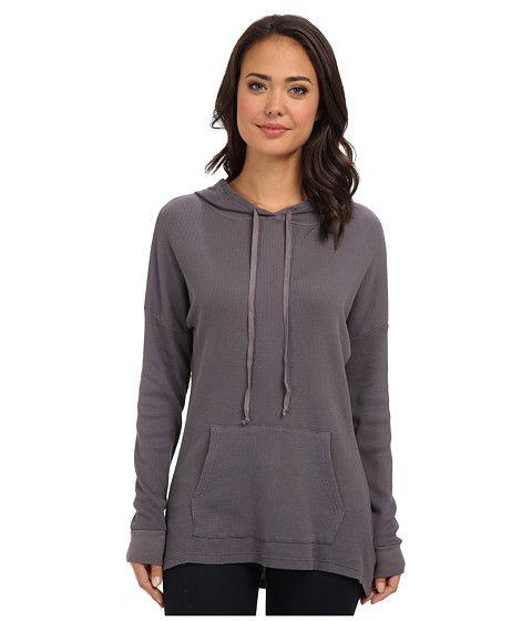 Allen Allen Allen Allen  LS HighLow Pullover Hoodie Dark Grey Womens Sweatshirt for 54.99 at Im in!
