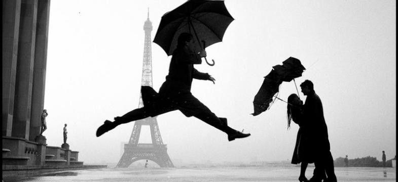 Elliott Erwitt: Paris, 1989. Begegnung auf der Paris Photo ...