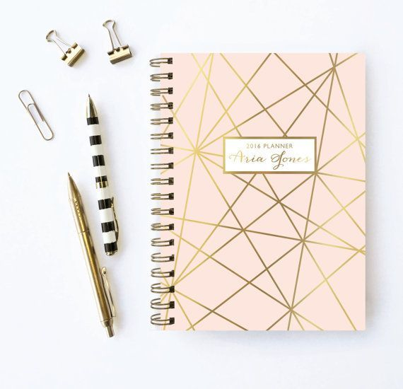 Personalized Planner | 2016 Planner | Weekly Planner | Choose ...