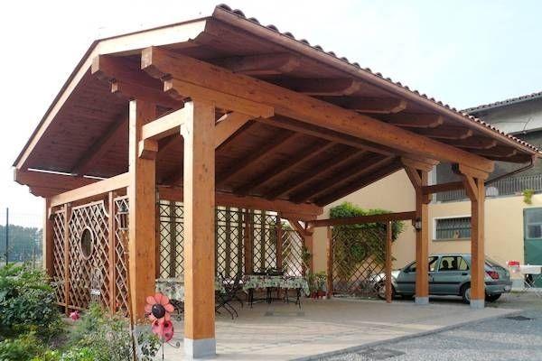Trovato su Google da giardinaggio.it tettoie. in legno