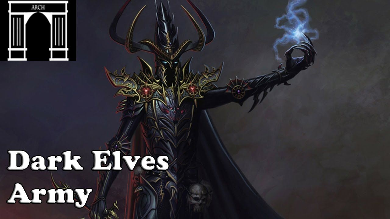 Possible Total War:Warhammer Factions The Dark Elves Army