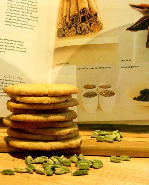 Madame Anne aux fourneaux: Biscuits à la cardamome
