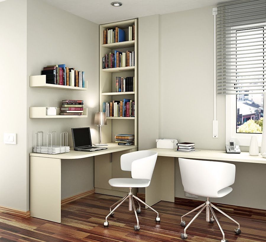 Stylish Minimalist Home Office | Home Office | Pinterest | Study ...