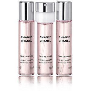Chanel - Chance Eau Tendre Refill 3 x 20 ml. EDT