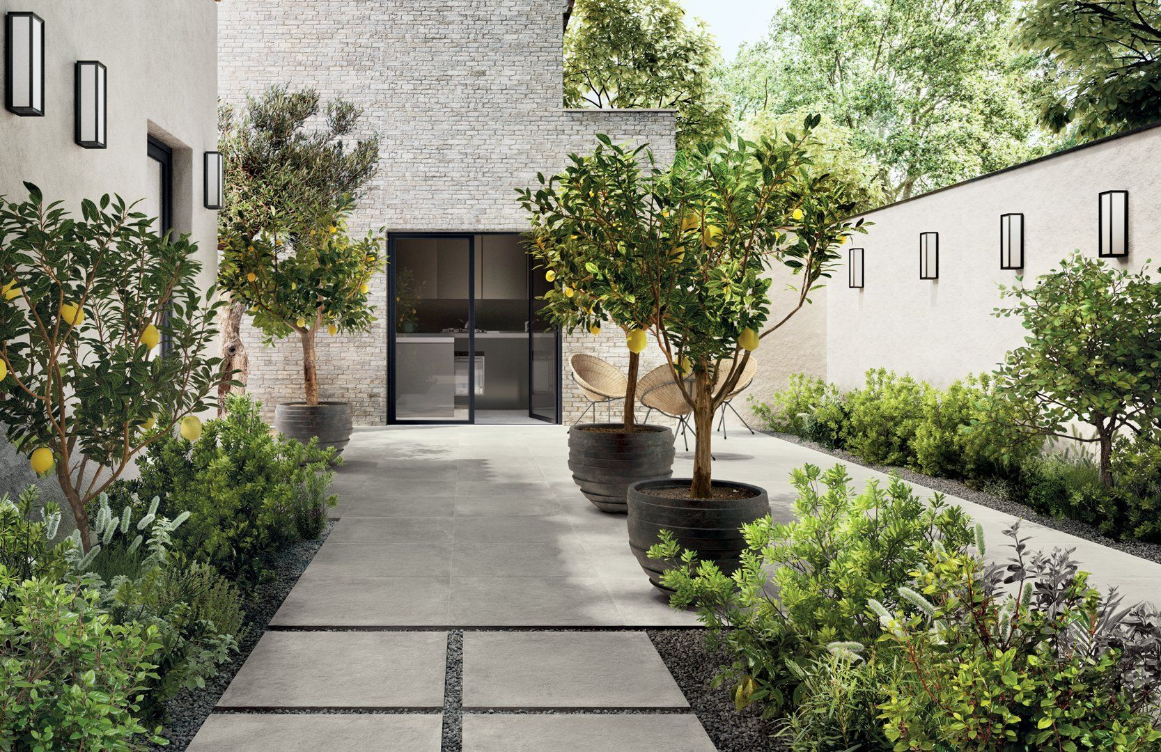 STAGE OUTDOOR PORCELAIN LIGHT GREY (600x600x20mm) All