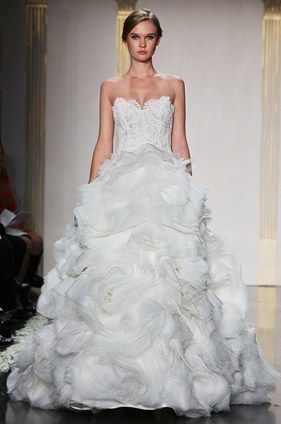 #projectdressme  Lazaro Wedding Dresses, Bridesmaid, Gown, Spring 2012 || Colin Cowie Weddings