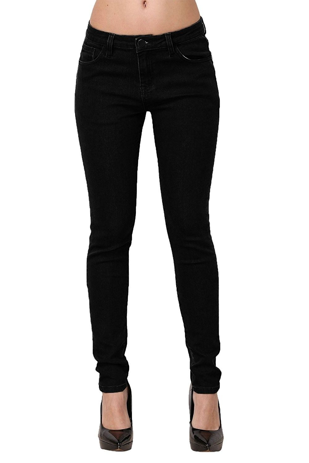 226db317e5 Women's Clothing, Jeans, Skinny Jeans- Women's Casual Butt Lift Stretch  Jeans Leggings - Solid Black - C317Z5ZGYTD #fashion #Jeans #women #outfits # pants