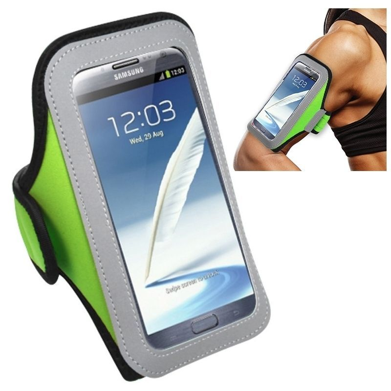 Insten Universal Sport Armband For Apple iPhone 6/ 6+/ Samsung Galaxy Note 3/ 4/ Edge/ Mega 2/ ZTE Zmax/ Grand X Max #2064402