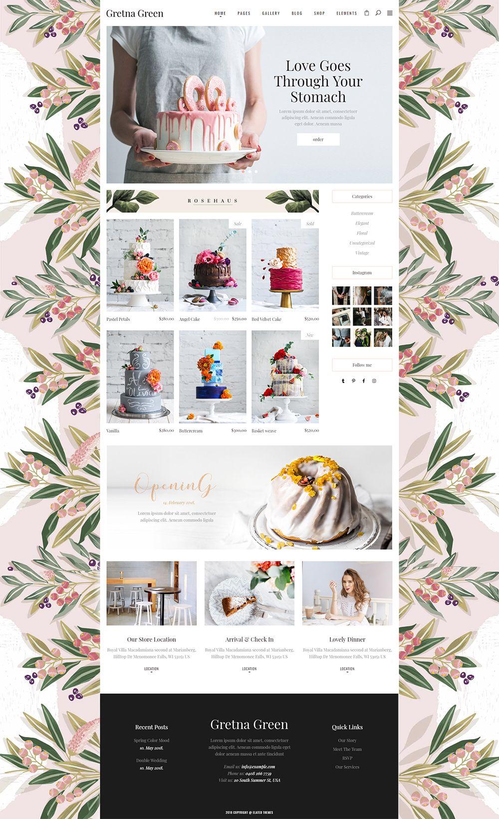 Landing Wedding Website Design Beautiful Website Design Web Design Inspiration