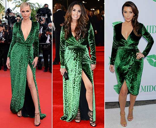 Natasha Poly, Tamara Ecclestone y Kim Kardashian, con el mismo vestido de Gucci #HOLAFashion #fashion #celebritystyle