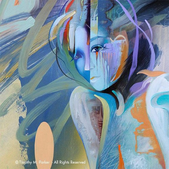 Lu0027INNOCENCE émotionnel - Fine Art Print sur papier texturé ou toile - Poser Papier A Peindre