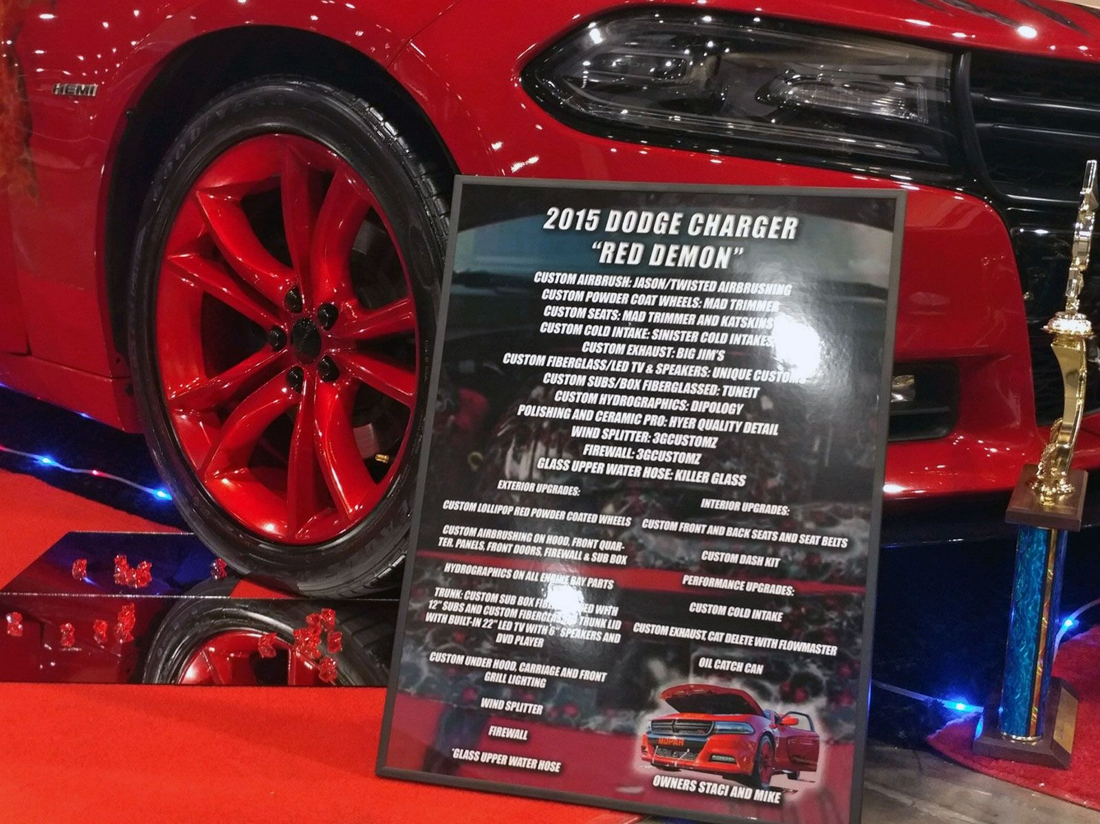 2015 Dodge Charger Car Show Board Car Show Signs Pinterest