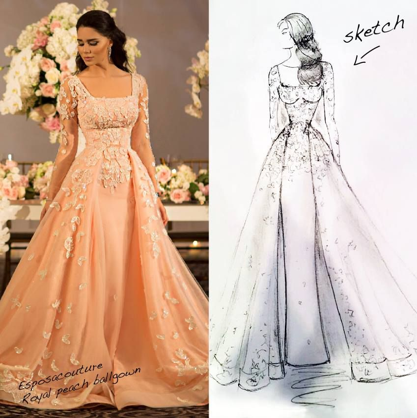 Wedding Dress Color Controversy : Dresses beautiful evening style wedding dress
