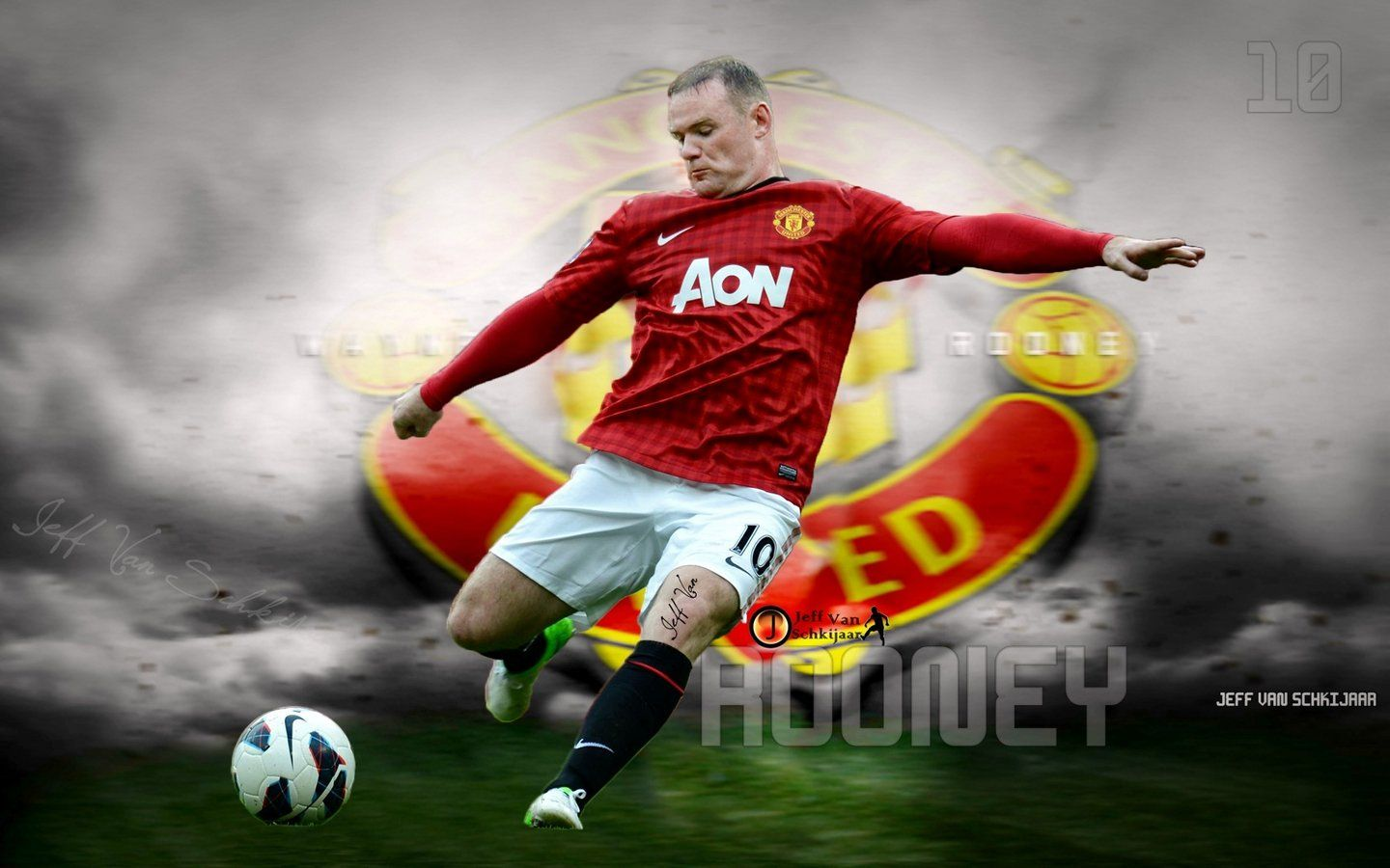 Manchesterunitedwallpapers Org Wayne Rooney Wallpaper Backgrounds Manchester United Images
