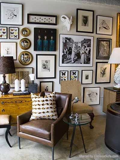 Eclectic Living Room Gallery