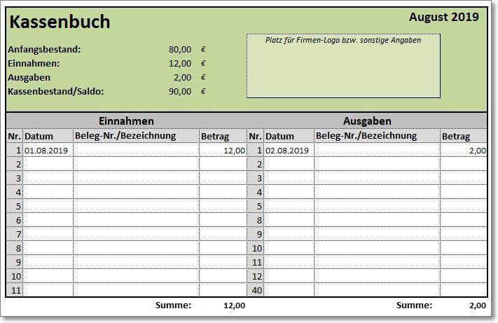 Excel Vorlage Kassenbuch Haushaltsbuch Haushaltskosten Finanzen Sparen Geld Excelvorlage Finanzen Geld Kassenbuch Vorlage Kassenbuch Excel Vorlage