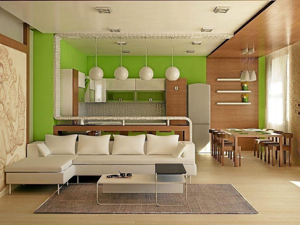 Дизайн кухни-студии с барной стойкой | Дизайн кухни ...