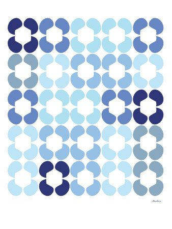 Blue Quilt Art Print at AllPosters.com