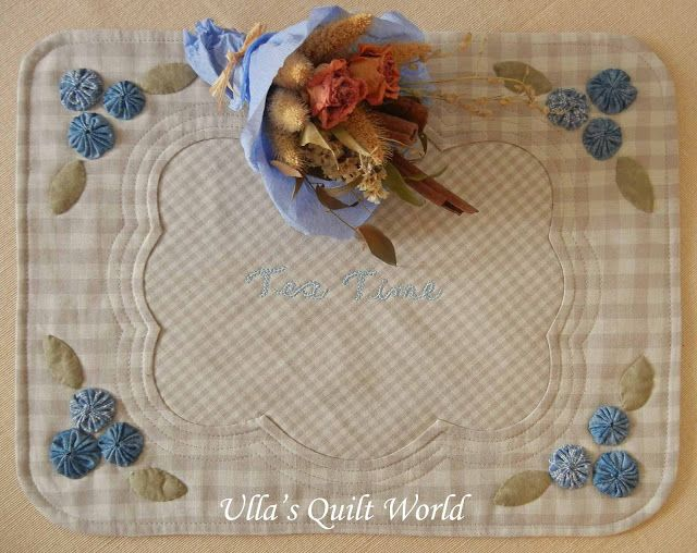 Ulla's Quilt World: Tutorial