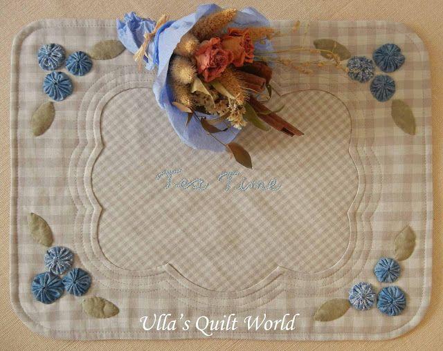 Ulla's Quilt World: Tutorial